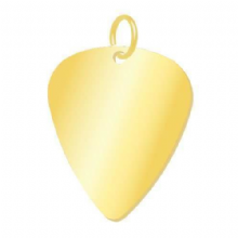 35mm Gold Guitar Pick